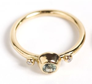 Image of Green Sapphire Ring