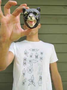Image of White Holopaw Icon Tshirt