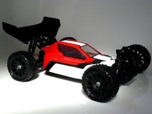 Image of Phat Bodies 'TURBO' for Losi Mini-8IGHT, Carisma GTB, Schumacher LC Racing EMB-1