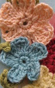 Image of  2 PDF Pattern- Spring Crochet Flowers