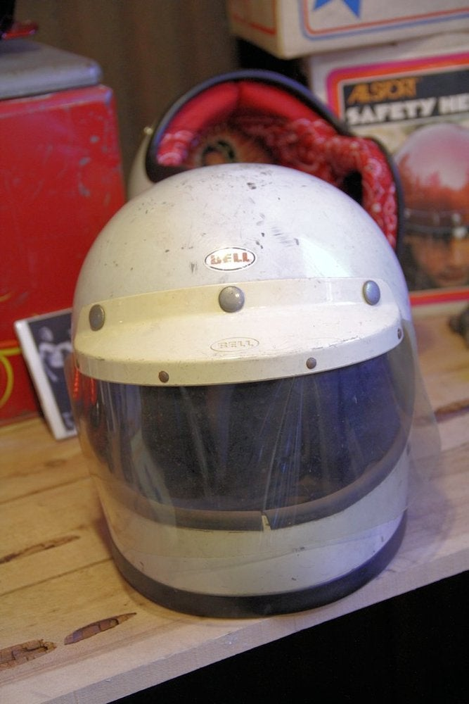 Image of Full Face Bell 7 3/8 Vintage