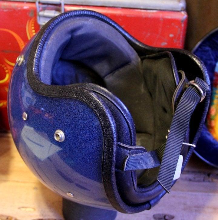 Image of 3/4 Helmet Blue Flake Small