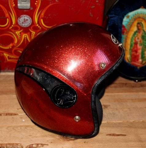 Image of 3/4 Helmet Red Tron