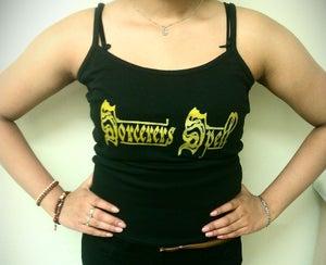 Image of Logo strappy top/girls vest