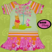 Image of Winnie the Pooh Friendly Trees Dress - Size 3T/4T