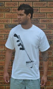 Image of Paperstack Apparel 'Street Sweeper' (Black/White)