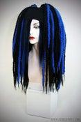 Image of BLACK/BLUE KRINKLEPUFFS