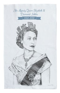 Image of Diamond Jubilee Tea Towel