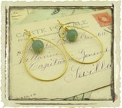 "Jewelry ""Olympia"" in Green"