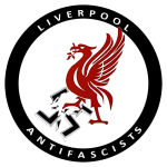 Image of LiverAF Liver Bird logo t-shirt
