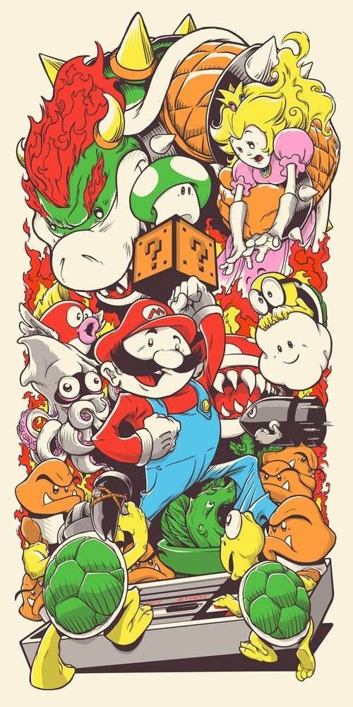 Image of Super Mario Brothers