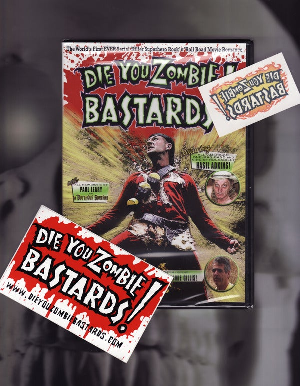 Image of DIE YOU ZOMBIE BASTARDS! the movie