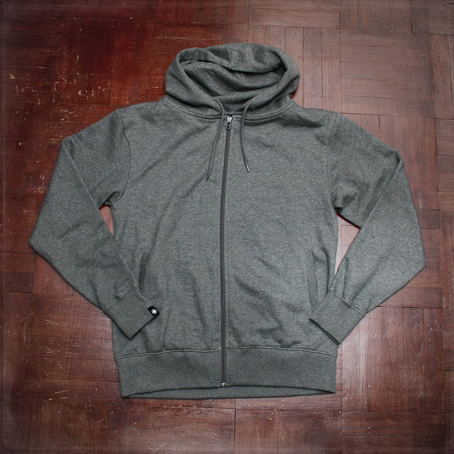 Image of Sticker Repeat Hood - Grey