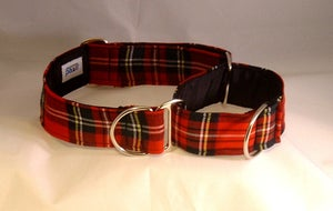 Image of Scottish Tartan Martingale Collar in the category  on Uncommon Paws.