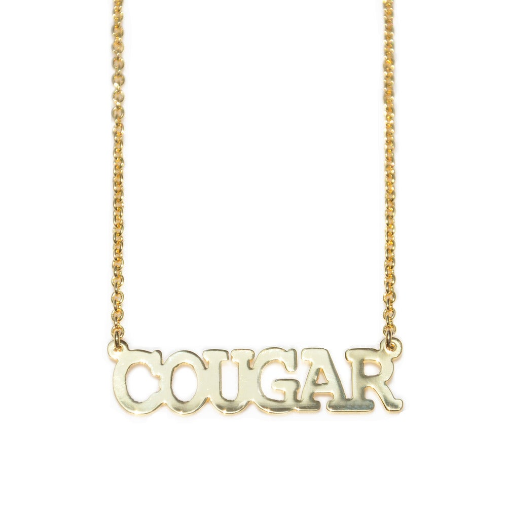 Collier Cougar - Félicie Aussi