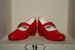 Image of Red Mary Jane's SD BJD Shoes