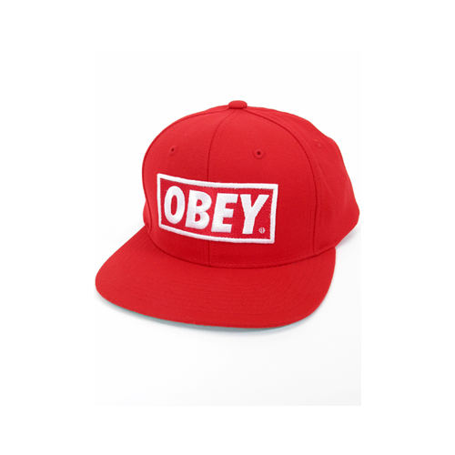 kings and crowns obey snapback red. Black Bedroom Furniture Sets. Home Design Ideas