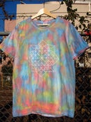 Image of RSM Dyed T Shirts (L size Sky bule marble)