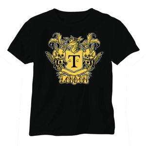 Image of Gold Tattoo Club Logo Tee [Mens]
