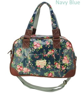 Image of Oil Cloth Bowling Style Bag