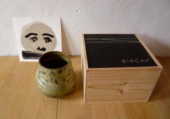 Image of ceramic bowl sis & drawing