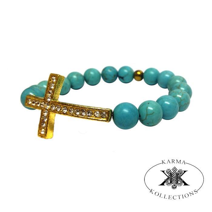 Image of Turquoise Faith Band