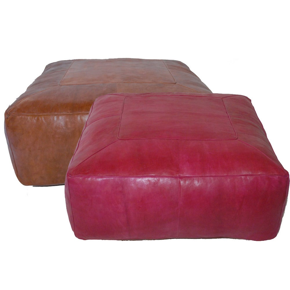 Image of Large Ottoman Pouf's