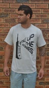 Image of Paperstack Apparel 'Call Up The Homies'(Black/Spot Grey)