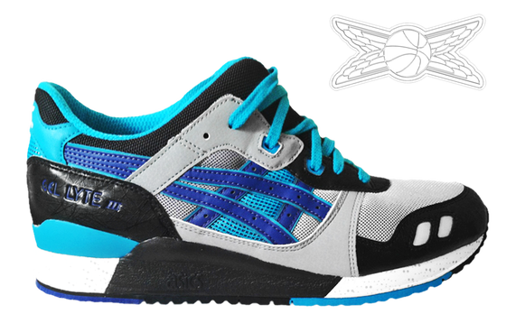 Image of Asics Gel-Lyte III Blueberry