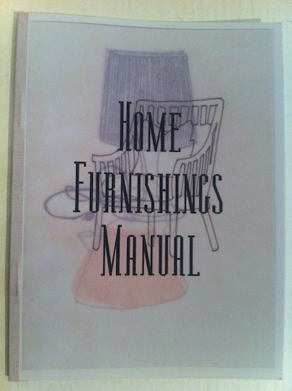 Image of Home furnishings manual