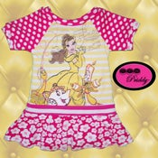 Image of Beauty and the Beast Belle Dress - Size 12-18 months
