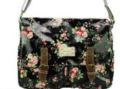 Image of Large Oil Cloth Saddle Bag