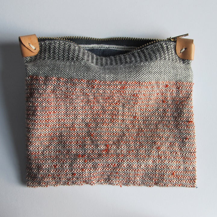 Image of Handwoven Zipper Pouch - Medium - No. 3