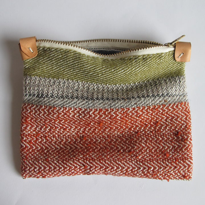 Image of Handwoven Zipper Pouch - Medium - No. 4