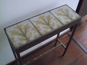 Image of 1 x 3 Yellow Trees console