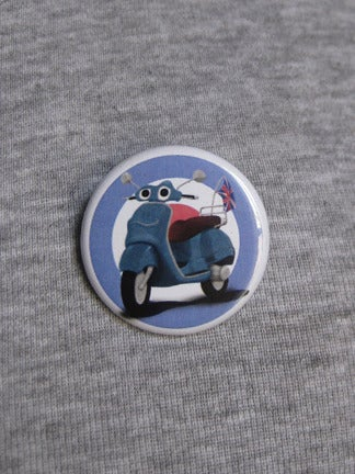 Image of Vespa button