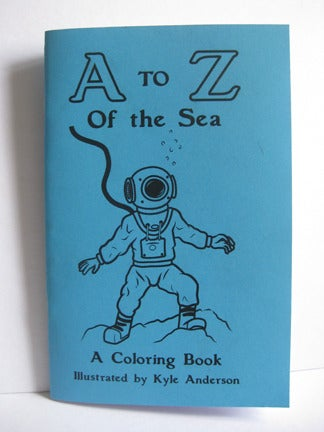 """Image of """"A to Z of the Sea"""" Coloring Book"""