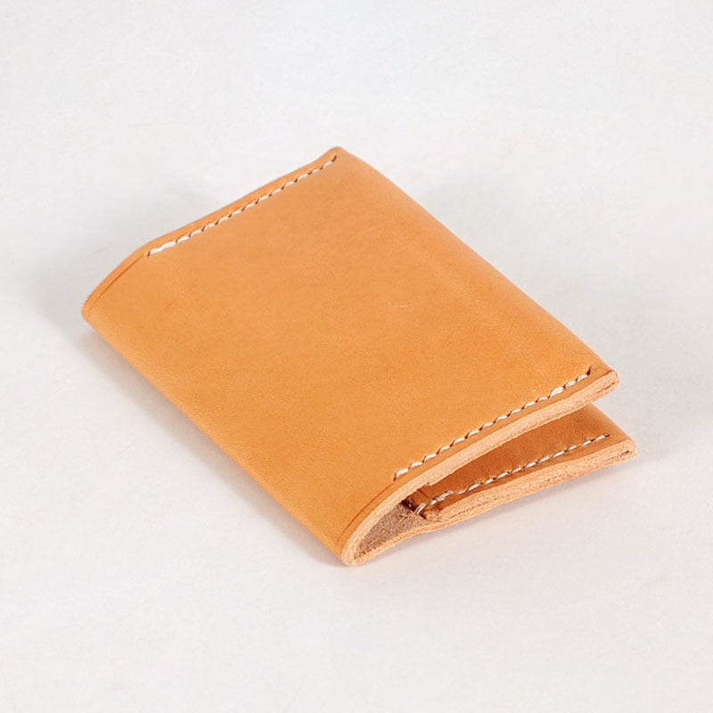 Image of Bi-Fold Card Wallet - Cashew