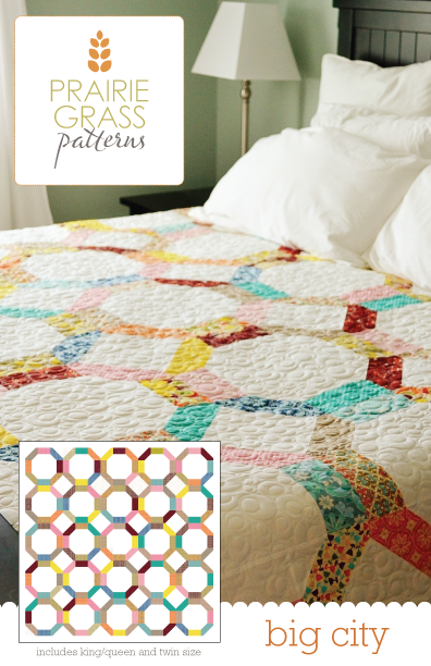 Image of Big City: Quilting Pattern # 113