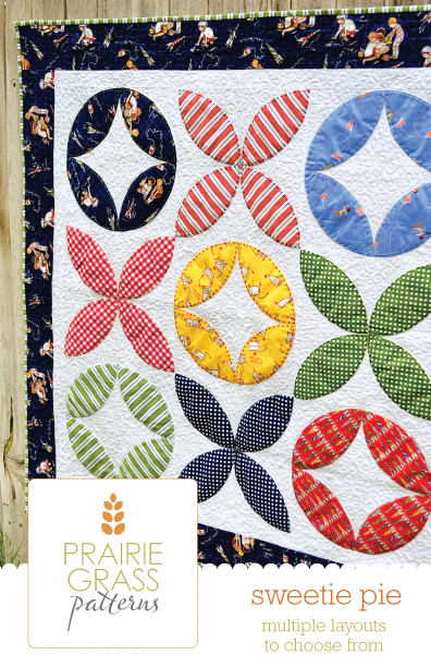 Image of Sweetie Pie: Quilting Pattern #117