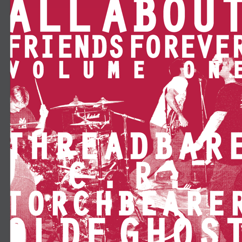 """Image of ALL ABOUT FRIENDS FOREVER VOLUME ONE 7""""/zine"""