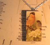 Image of Chaffinch Domino Necklace