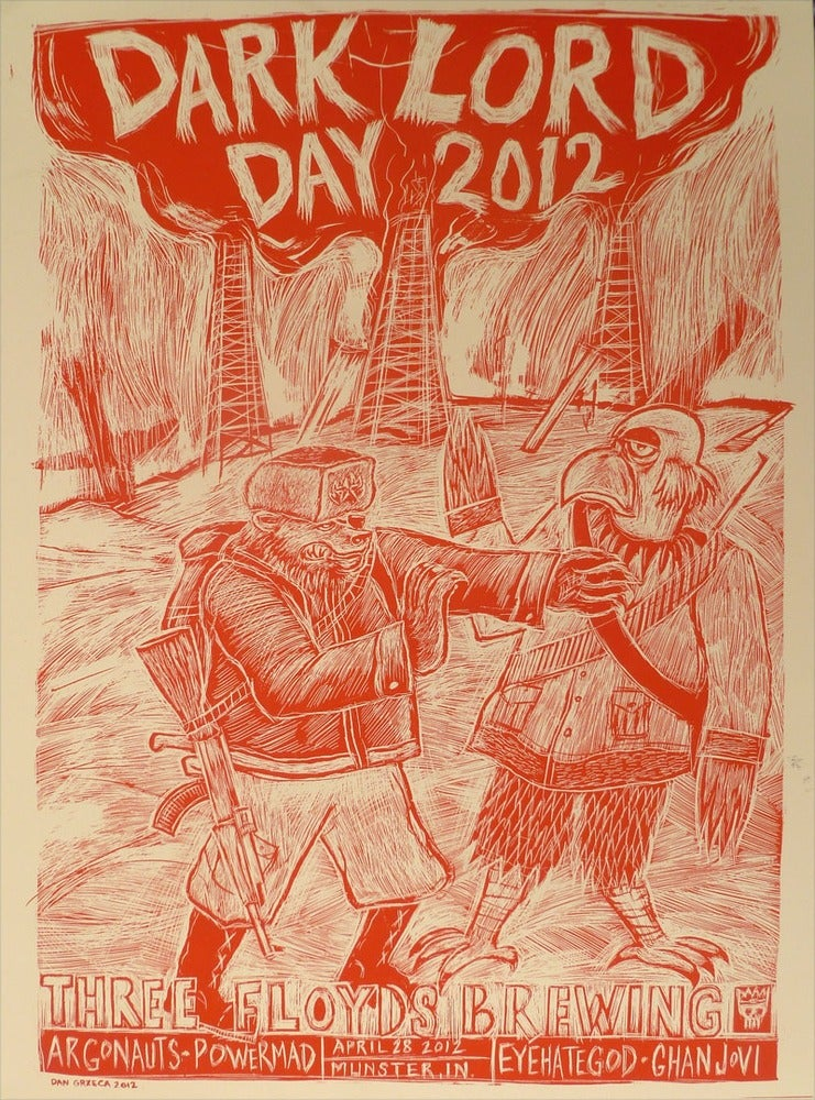 Image of Three Floyds Dark Lord Day Red Poster