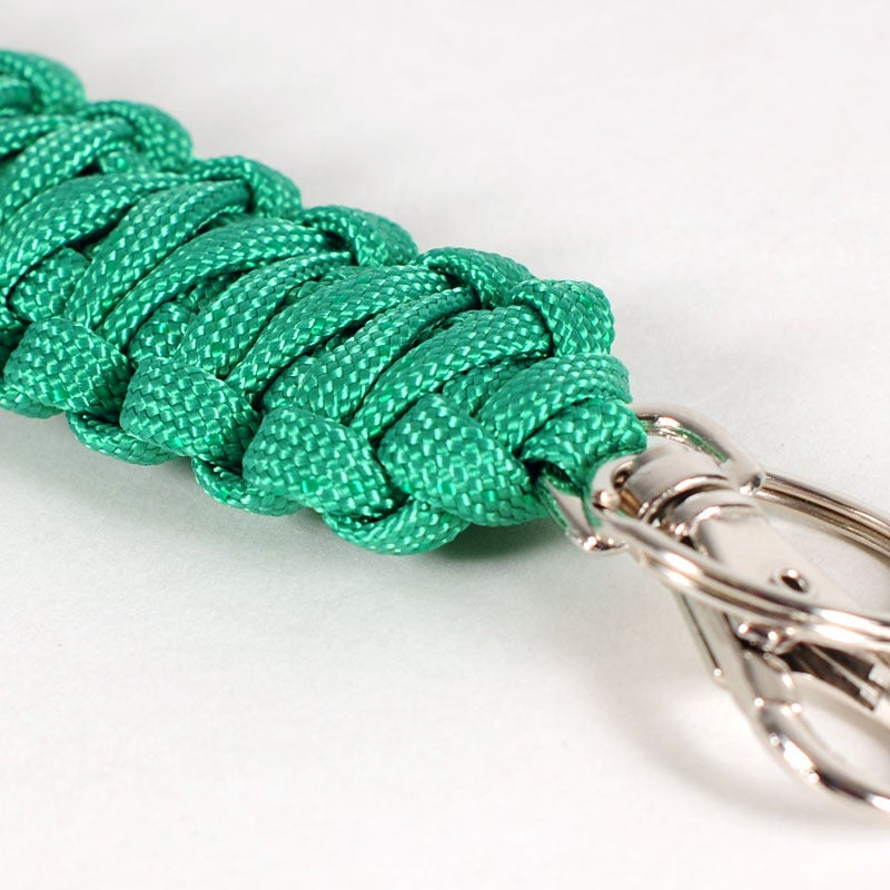 Image of Paracord Keyclip - Kelly Green