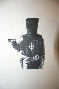 """Image of 5x3"""" Zodiac Sketch Sticker"""