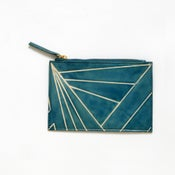 Image of DAZZLE PURSE blue