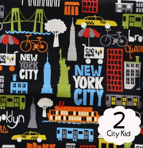 Image of #2 City Kid Fabric