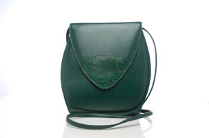 Image of Used Vintage Green Bag by Vouge Boot Shop (FREE SHIPPING)