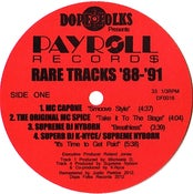 Image of PAYROLL RECORDS: Rare tracks '88-'91 **SOLD OUT***