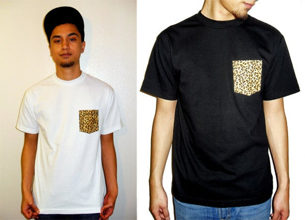 Image of Cheetah - Pocket Tee
